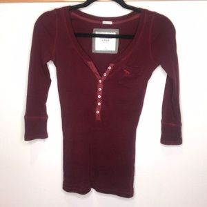 Abercrombie & Fitch long-sleeve shirt